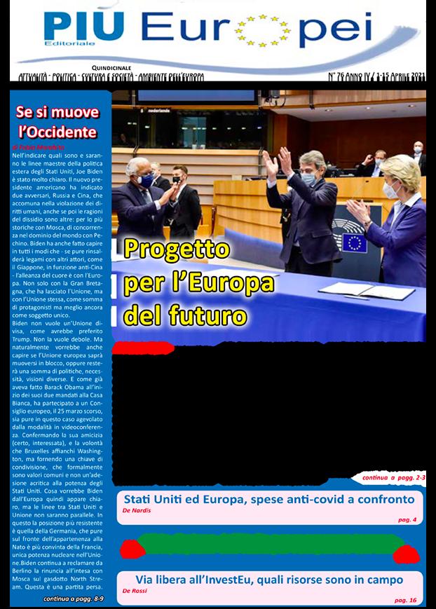 Più Europei n. 76 in Pdf