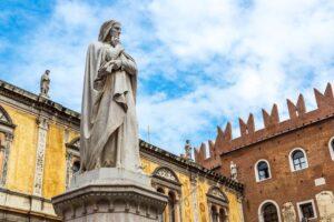 La statua di Dante di Ugo Zannoni